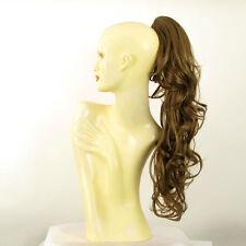 Hairpiece ponytail long wavy light golden brown 25.59 ref 6/12 peruk