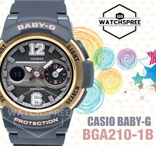 Casio Baby-G Sporty BGA-210 Series Analog Digital Watch BGA210-1B
