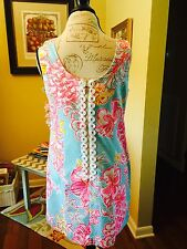 Lilly Pulitzer Cathy Shift, Breaking Water B Lolita, Size 14