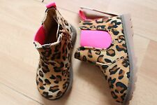 NEW GIRLS CARTER'S SZ 5 CHEETAH BOOTS