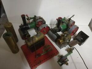 Mamod Steam Engine Collection Graveyard.