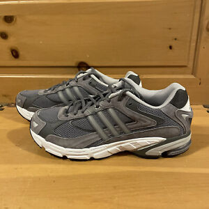 Adidas Men's Response CL FX7726 Grey and White Shoes Size 6.5