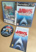 JAWS UNLEASHED SONY PLAYSTATION 2 PS2 GAME WITH MANUAL OFFICIAL UK PAL