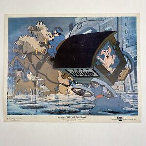Vintage Original Press Still Walt Disney Lady And The Tramp Movie 1955
