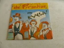 "THE PIRANHAS - Play Kwela! - 1980 UK 3-track 7"" vinyl single"