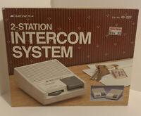 Vintage Archer Two Station Intercom System 43-222A Open Box