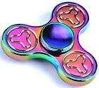 Rainbow Finger Fidget Alloy Hand Spinner EDC Gyro Adult Autism Giocattoli Toy
