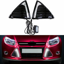 DRL Daytime Running Light Turn Signal Fog Lamp For Ford Focus 3 2012 2013 2014