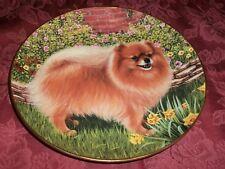 Danbury Mint Springtime Delight Barbara Higgins Bond Pomeranians Collector Plate