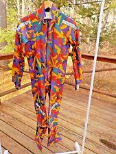 Descente Mens Women Sz M GS Speed Retro 80's 90's Design Downhill Ski Race Suit
