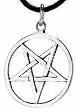 Pentagrama diablo magia plata 925