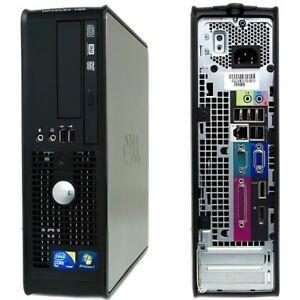 DELL OPTIFLEX 780SFF/INTEL CORE DUO DUAL CORE E2180 2.00GHZ/2GB/WINDOWS 10 PRO
