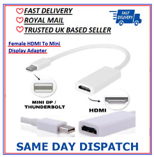 Portable Display Port DP Male To HDMI Female Adapter Cable Converter For HDTV