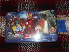 V36_1 Marvel Toys Party Supplies THE AVENGERS PUZZLE 3 PACK PANORAMA NEW SEALED