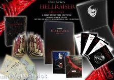 HELLRAISER Trilogy 3 Blu-Ray & DVD 4-Discs  Lacquered Velvet Edition