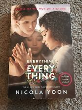 BRAND NEW Everything, Everything by Nicola Yoon (Paperback) with movie photos!