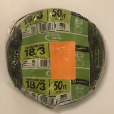 50 Foot Ft 183 Thermostat Wire 18 Gauge 3 Conductor 150 Volts Southwire