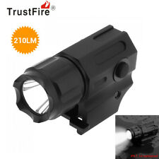 TrustFire Handheld G03 210LM Tactical Pistol-Mounted Torch Flashlight fr Outdoor