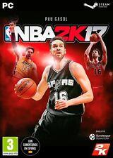 NBA 2K17 2017 PC EN ESPAÑOL CASTELLANO NUEVO PRECINTADO