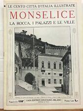 MONSELICE, LA ROCCA, I PALAZZI E LA VILLE.,