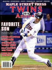 Maple Street Press Twins 2010 Annual-Target Field-Analysis-Prospects-Stats-Photo