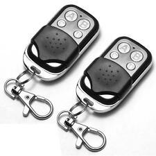 2x Universal Garage Door Cloning Remote Control Key Fob 433mhz Gate Copy Code IA