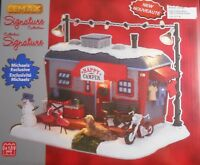 Lemax Christmas Light Table Accent Michael's Exclusive Happy Camper Home 521506