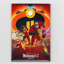 """THE INCREDIBLES 2 / OFFICIAL - 2""""x3"""" MOVIE POSTER MAGNET (disney pixar 2018)"""