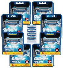 100 Gillette Mach3 Turbo Rasierklingen / 8x 12er OVP = 96 + 4 Klingen im Blister