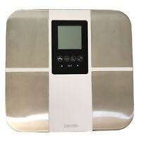 Taylor Body Composition Scale - Fat Water BMI Athlete Mode 5731F White & Silver