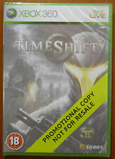 TimeShift (Time Shift) Promotional Promo Copy, Sierra, Xbox 360, PAL, NEW SEALED
