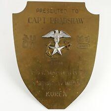 KOREAN WAR United States MARINE OFFICER Award — Bronze, Eagle Star Anchor — RARE