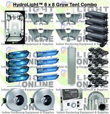 HydroLight™ Complete 1000 Watt Grow Tent w Light Kit System 1000w Ballast Hood