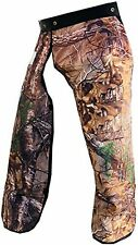 "Forester Chainsaw Safety Chaps with Pocket, Apron Style (Short 35"", REAL TREE..."