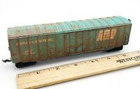 HO Scale Train Bachmann PENN CENTRAL PC 160502 Box Car Weathered Look