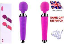 Vibrators Sex_G_Spot Adults Toys 10-mode USB Vibrating Massager Magic Wand Plug