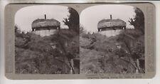 WWI BRITISH STEREOVIEW - HUN PILL-BOX AT BULLECOURT - BATTLE OF ARRAS