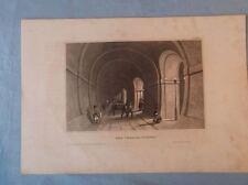 alte Grafik - Stahlstich  - Der Themse Tunnel - CCLXX   /S42
