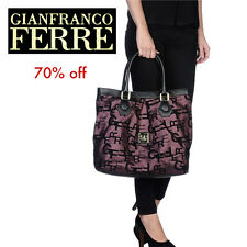 GianFranco Ferre Designer Shopper Tote Bag.