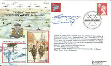 Crossing Of The Rhine Operation Varsity 1945 Flown And Signed Cover 1995 U4174