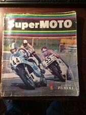 PANINI ALBUM IMAGES SUPER MOTO 1975 COMPLET