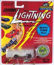 Johnny Lightning Classic '32 Roadster Pearl White A Bonus Car Series K 1993 MOC