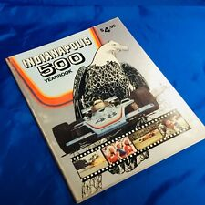 Indianapolis Indy 500 HUNGNESS RACE YEARBOOK Vintage 1975 VG Used Bobby Unser
