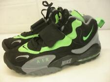 Men's 13 Nike Air Max Speed Turf Poison Green Black Grey Shoes 525225-030 2013