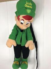 Lucky charms Plush collectible back pack rare leperchaun  Kinderlov