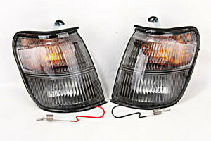 Corner Light Lamps LEFT+RIGHT PAIR Fits MITSUBISHI Pajero Montero 1992-1994