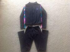Girl's Plush Polartec Ice Figure Skating Practice Jacket Pants Set Size CL