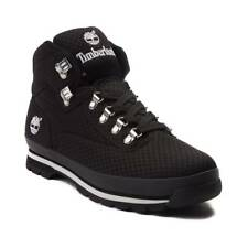 Brand NEW Mens Timberland Mesh Euro Hiker All BLACK Athletic Boots