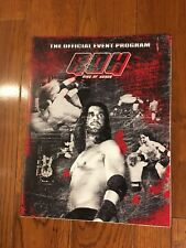 2010 Ring Of Honor Event Program ROH Seth Rollins Kenny Omega Cesaro Kevin Owens