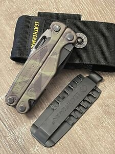 Leatherman Charge Plus Woodland Camo Multi Tool 154cm Blade w/ Sheath & Bits